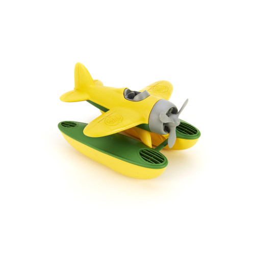 Toy Seaplane - Yellow Wings