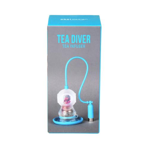 Tea Diver - Blue