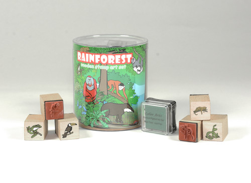 Rainforest Stamp Set