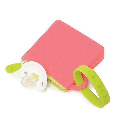 Silicone Pouch in Pink