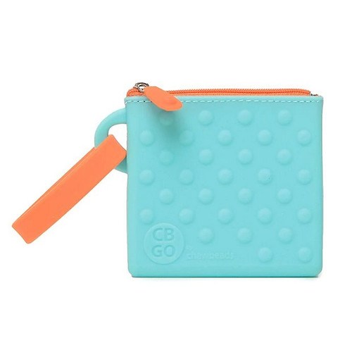 Silicone Pouch in Blue