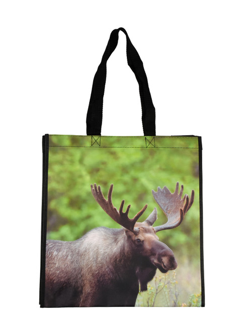 Large Moose Tote Bag