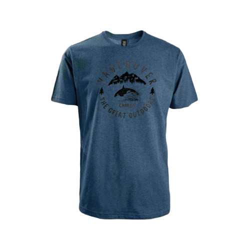 T-shirt with 'Vancouver, The Great Outdoors'