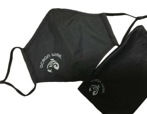 Ocean Wise facemask, black