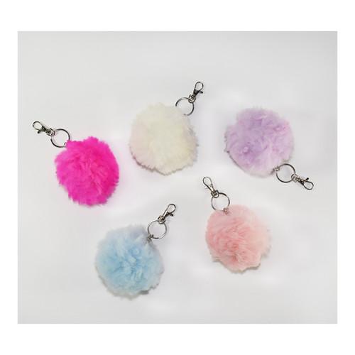 Alpaca fur keychains
