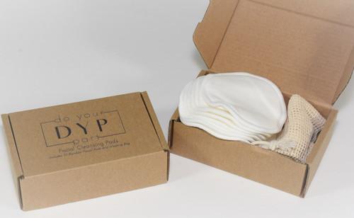 Reusable Cotton Facial Cleansing Pads Set