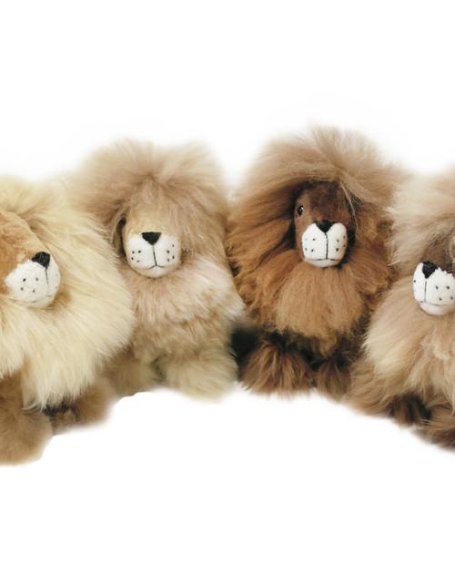 Peruvian Alpaca Fur Lion