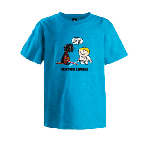 """Luke, I am your Otter"" Children's T-Shirt"