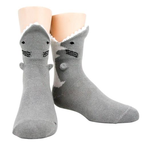 Great White Shark 3D Socks - Youth