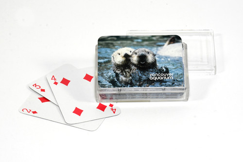 Sea Otter Pair Mini Playing Cards
