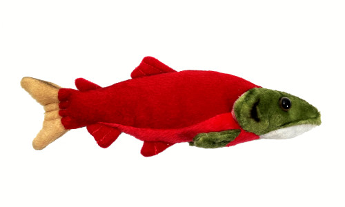 Sockeye Salmon Stuffy - 7 inch with Magnet