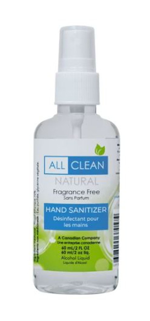 All Clean Natural Hand Sanitizer 60ml