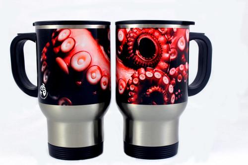 Stainless Steel Octopus Travel Mug