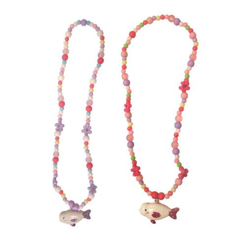 Beluga Glitter Necklace