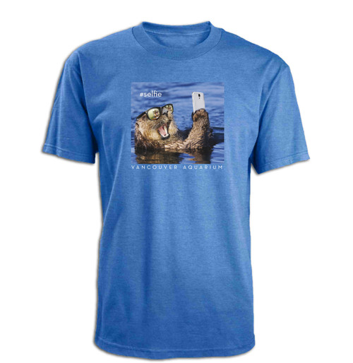 """""""Otter #Selfie"""" Adult T-Shirt"""