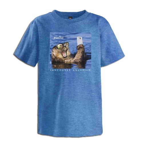 """Otter #Selfie"" Youth T-Shirt"