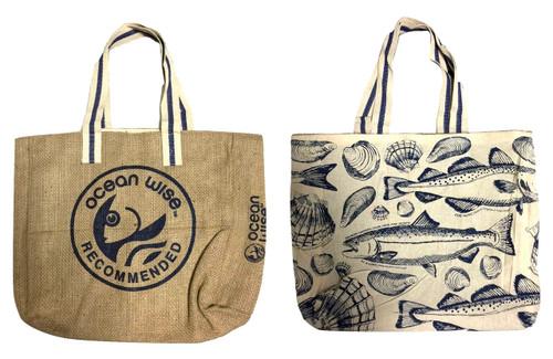 Ocean Wise Reversible Bag Large