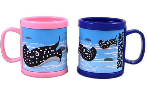 Cup for kids with 3D sting ray