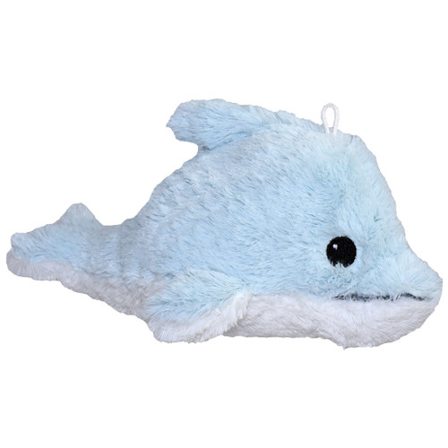 Light Blue dolphin stuffy, 9 inches