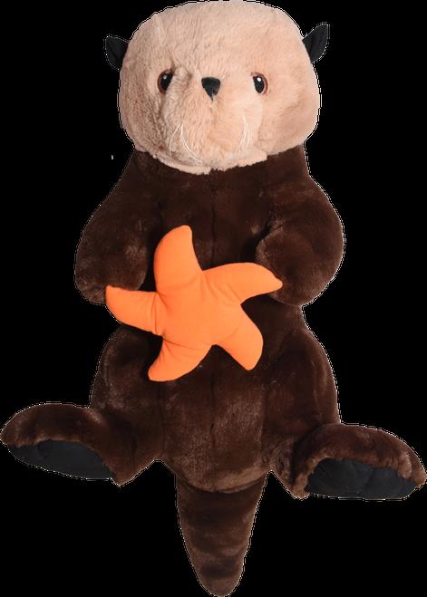"""30"""" Sea Otter Stuffy"""