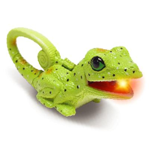 Carabiner Lizard with Light Key Ring