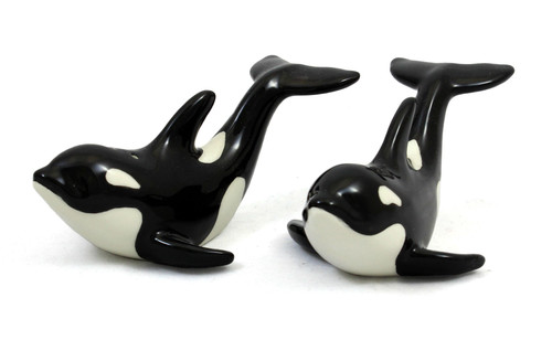 Orca Salt & Pepper Shakers