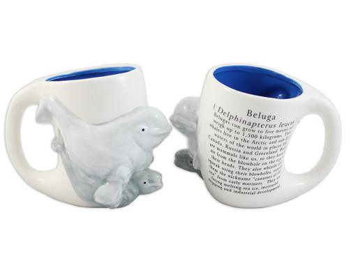 3D Beluga Mug
