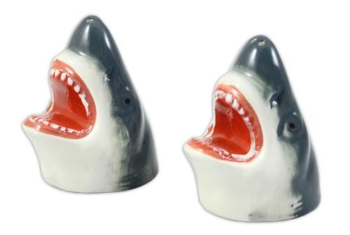 Shark Head Salt & Pepper Shakers