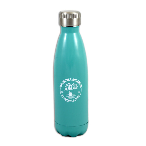 Stainless Steel Bottle with VA logo and seal