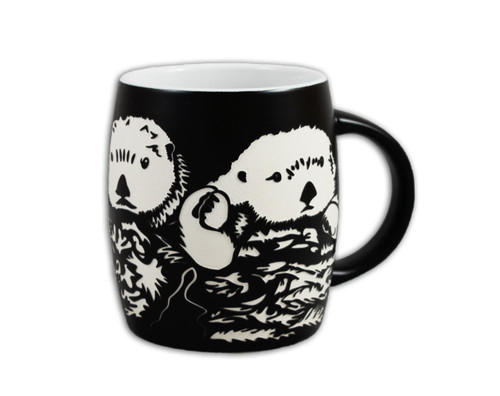 Sea Otter Etch Mug