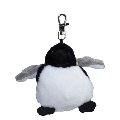 Stuffy Emperor Penguin key ring