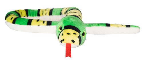 Snake Stuffy Stripe - Green