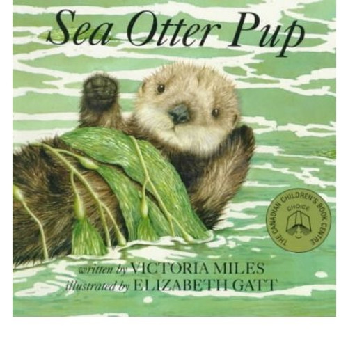 Sea Otter Pup paperback book