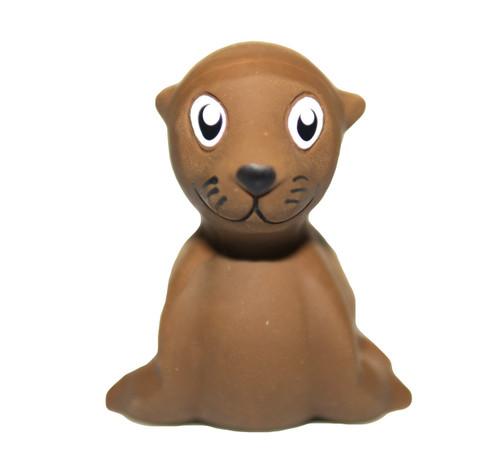 natural rubber sea lion bath toy