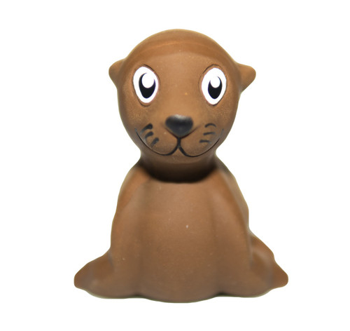 natural rubber sea lion bath toy