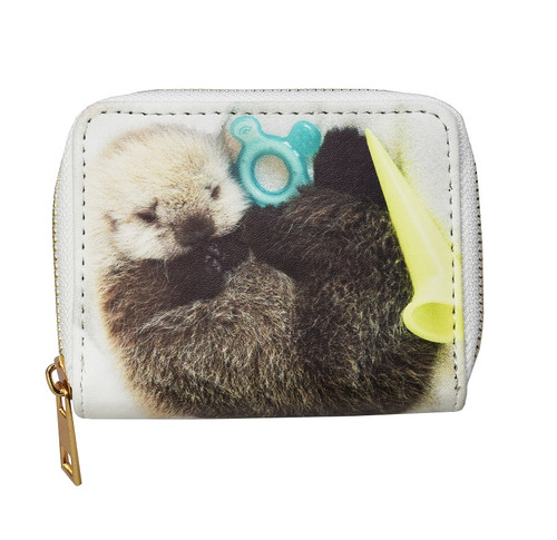 Sea otter pup wallet