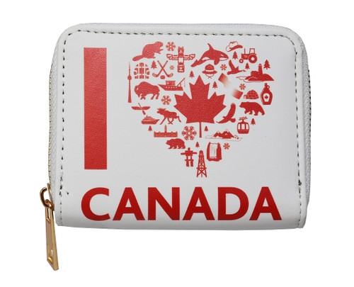 I Love Canada Wallet