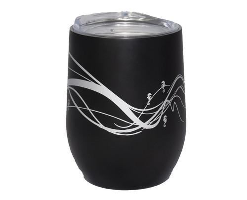 Insulated Wine Tumbler Black