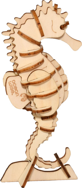 3D wood Sea Horse puzzle