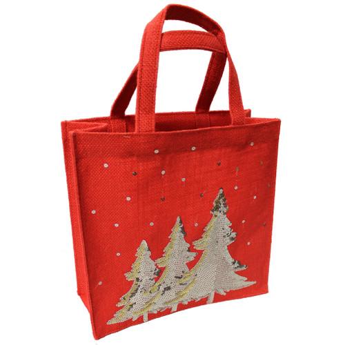 Christmas Jute bag
