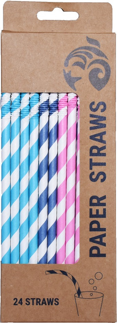 paper straws 24-pack