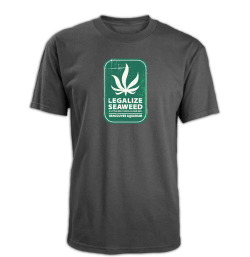 Legalize Seaweed Adult T-Shirt