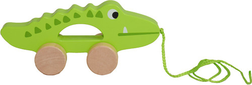 pull along wooden crocodile