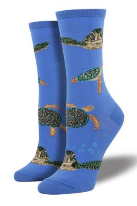 Sea Turtles Socks - Women