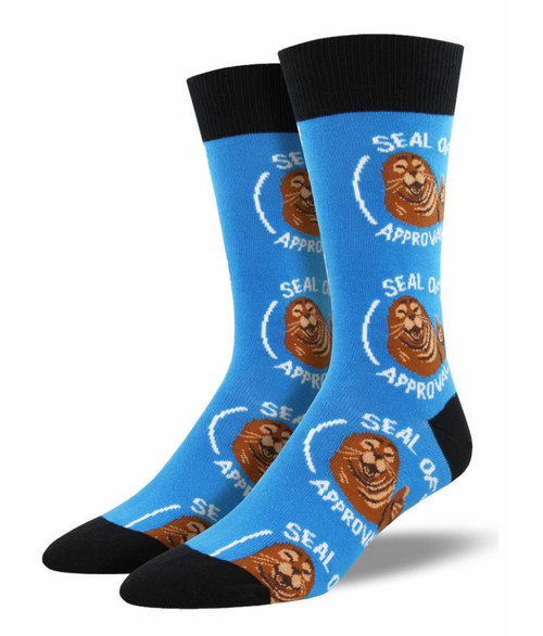 Seal of Approval Socks - Blue