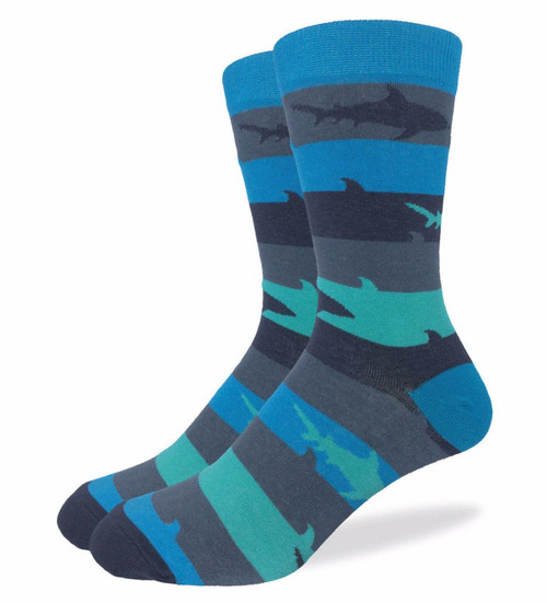 Shark Week Socks - Men (Size 13-17)