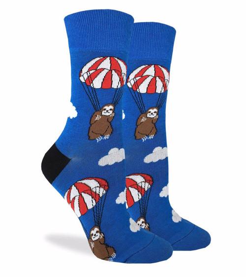 Parachuting Sloths! Socks - Women