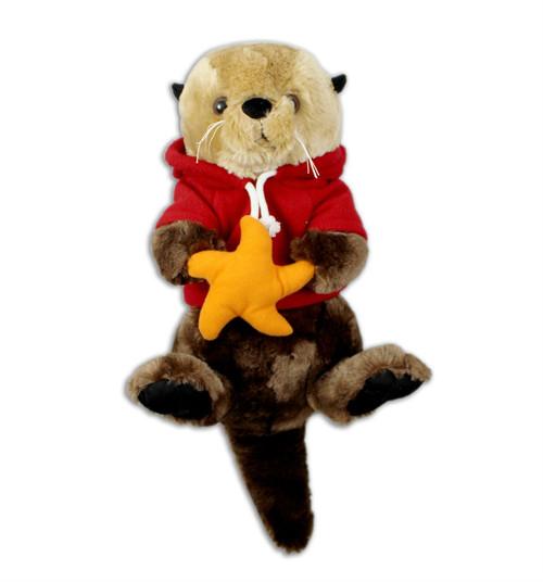 Sea Otter Stuffy with hoody