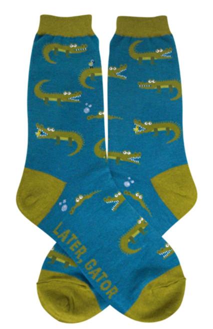 Alligator Socks - Women