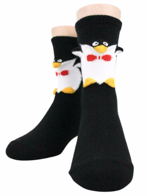 3D Penguins! Socks - Kids